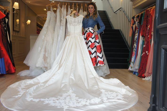 Vestidos de noiva usados são aposta de loja do ramo em Curitiba