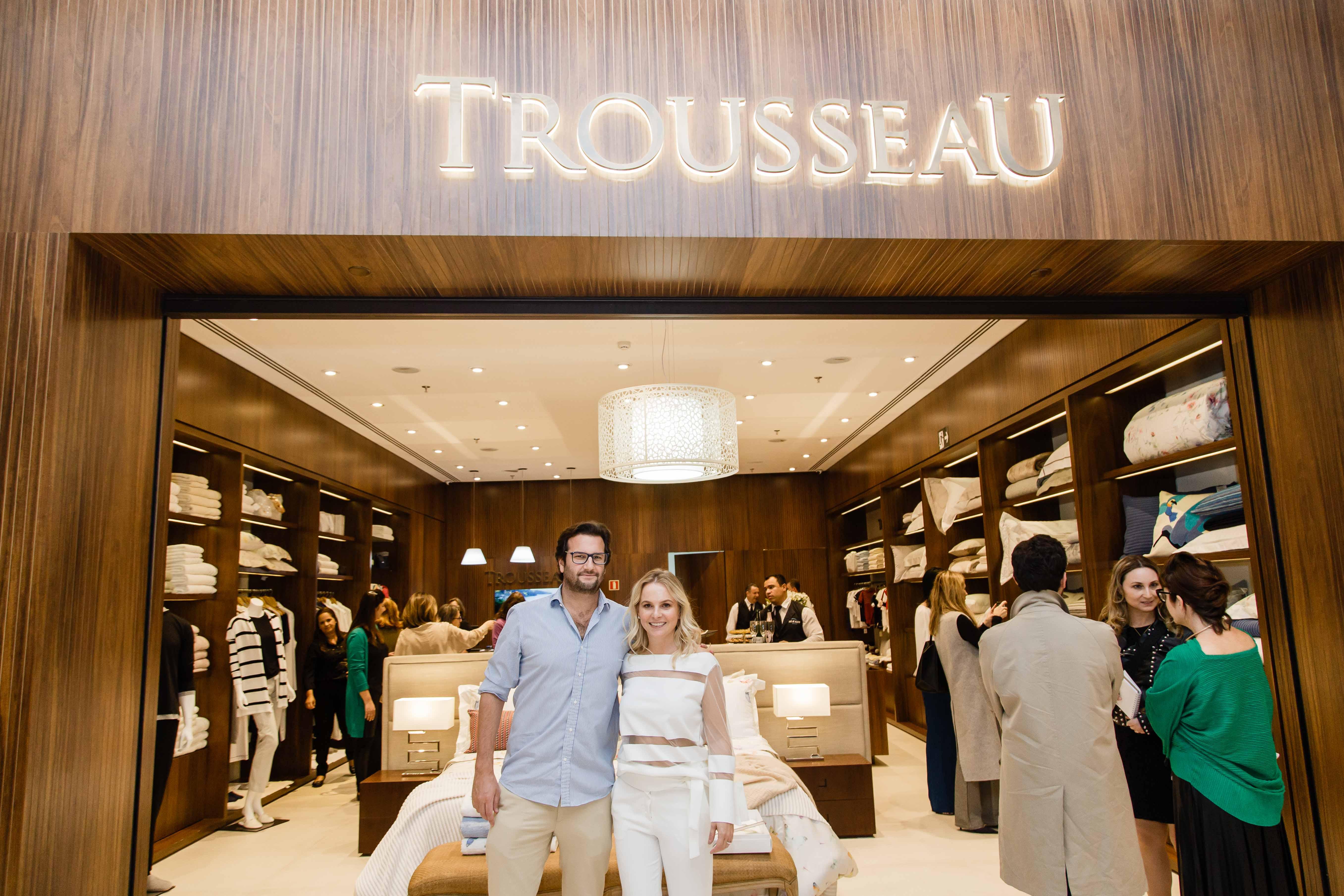 Coleção Celebrate da Trousseau Curitiba é lançada com coquetel