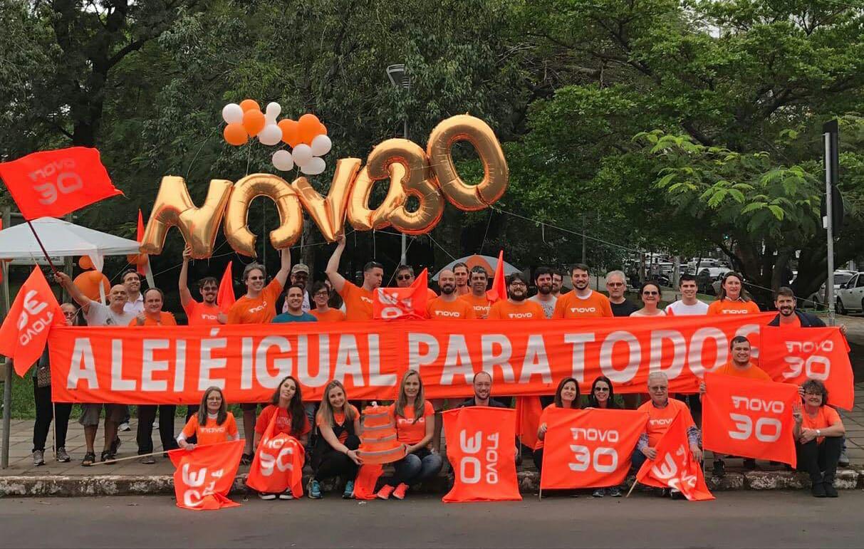 Partido NOVO vai realizar manifestação contra fundo eleitoral na Boca Maldita