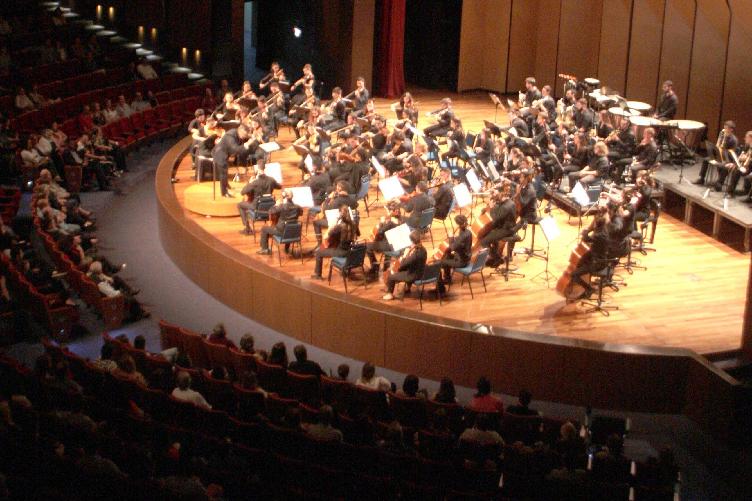 Concerto da Filarmônica Jovem de Israel atrai pouco público