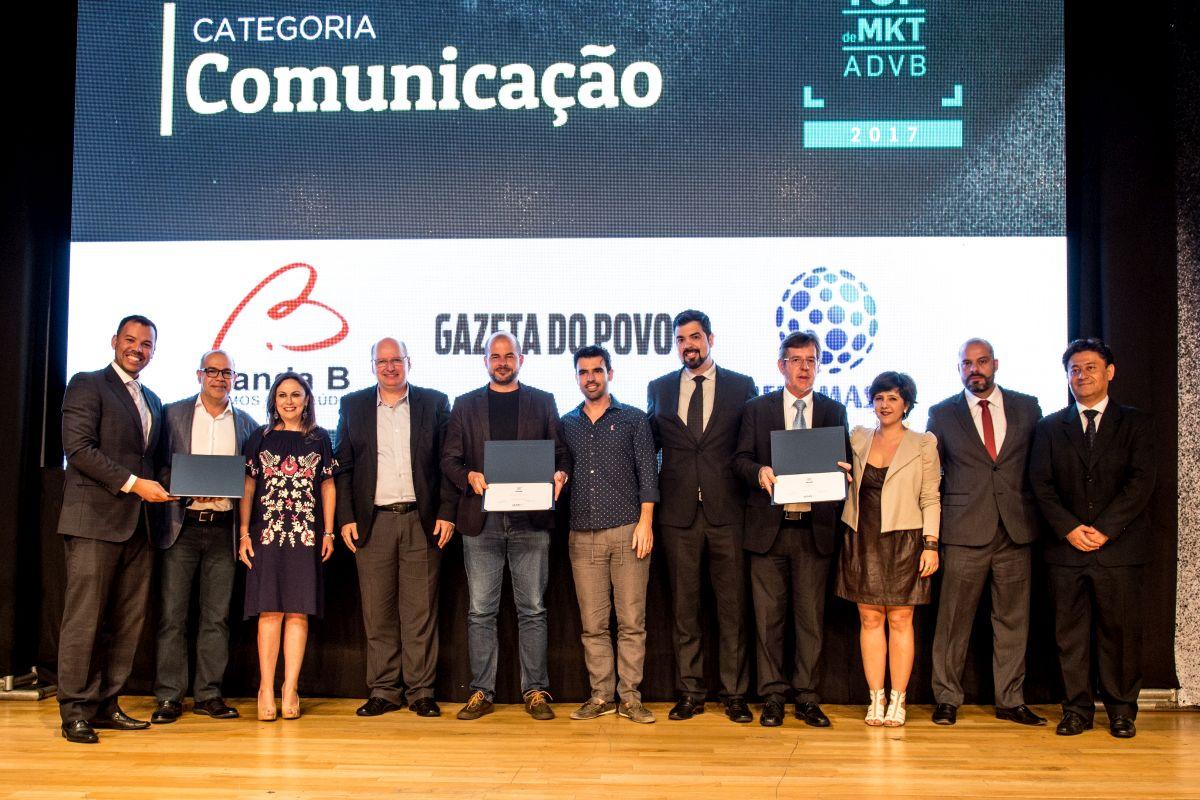 Mudança para plataforma digital rende Top de Marketing da ADVB-PR à Gazeta do Povo