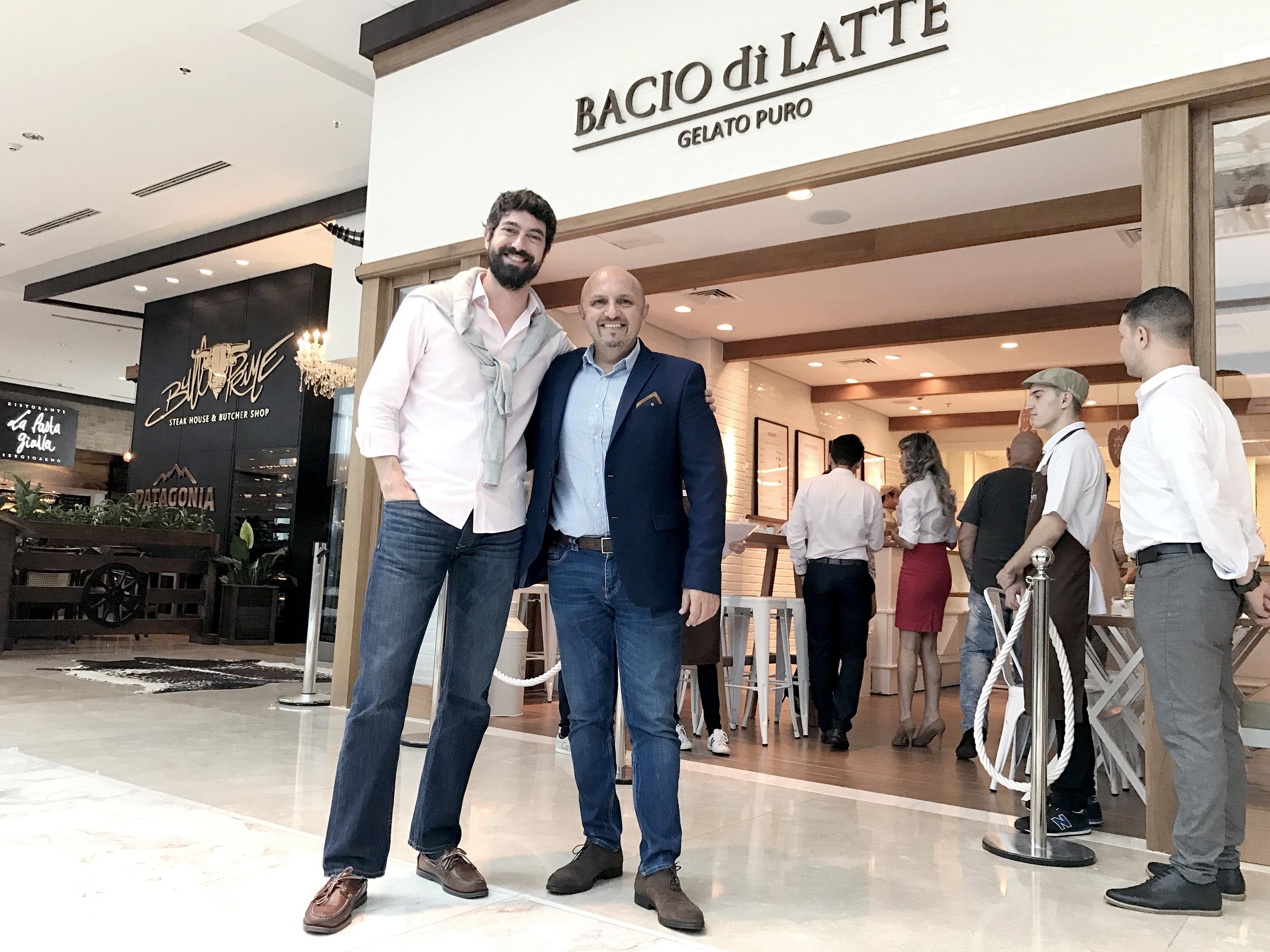 Marca italiana de gelatos premium abre loja em Curitiba