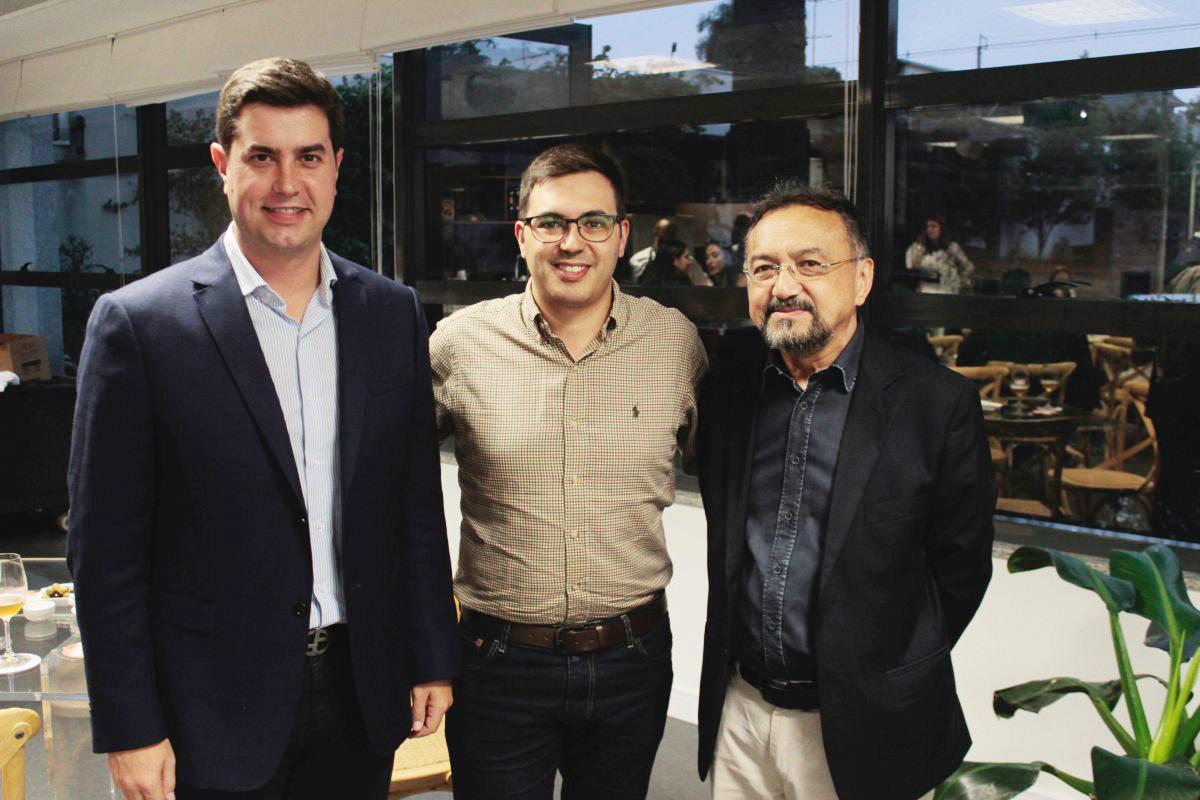 Último jantar do ano na Gazeta do Povo reúne pré-candidato ao governo do PR