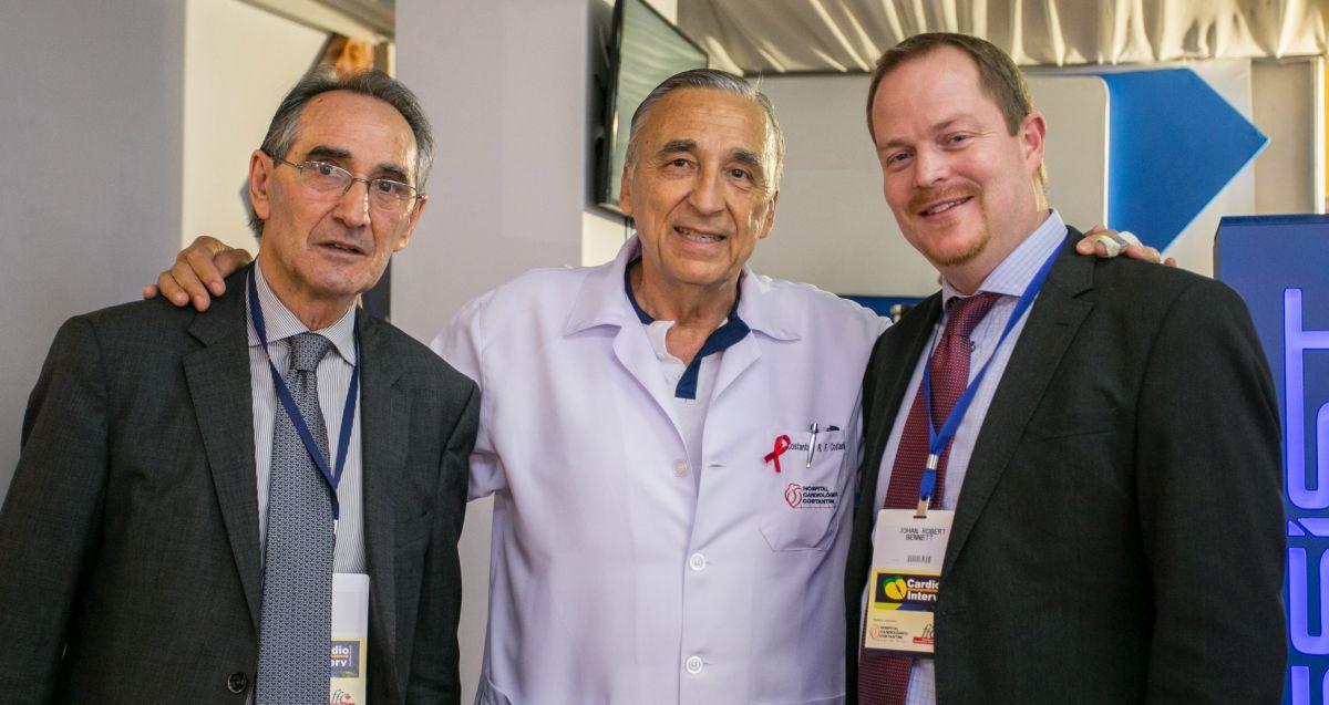 Hospital Costantini reúne grandes nomes da cardiologia internacional