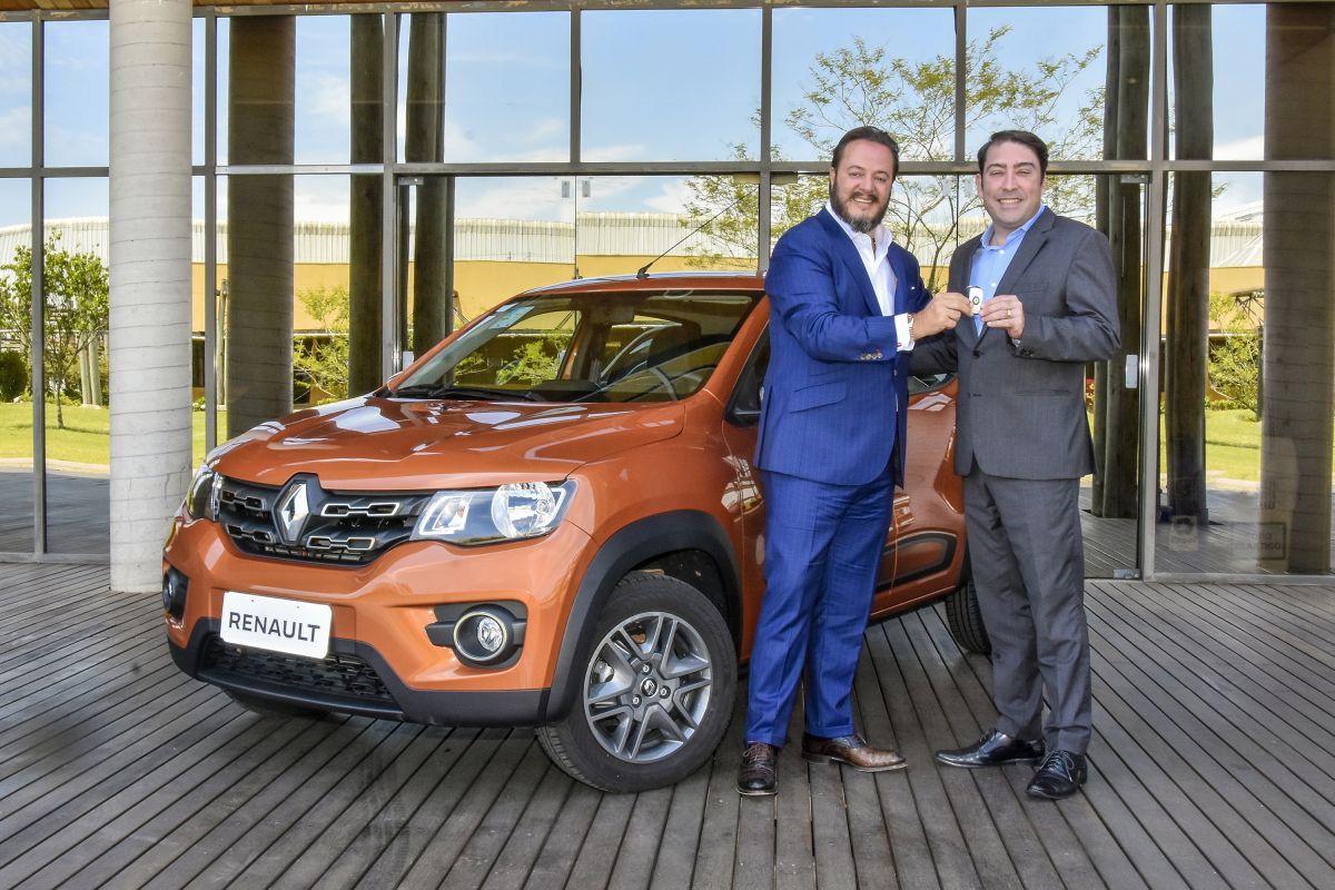 Renault doa Kwid zero km ao Lide Paraná para sorteio de Natal