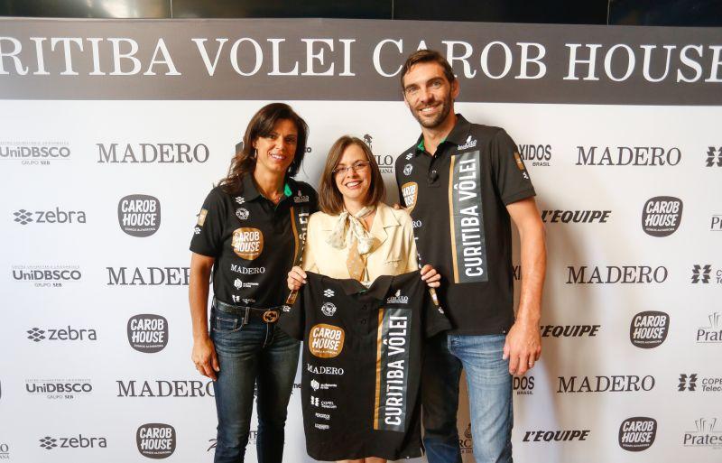 Nova equipe profissional de vôlei é apadrinhada por dois grandes esportistas de Curitiba