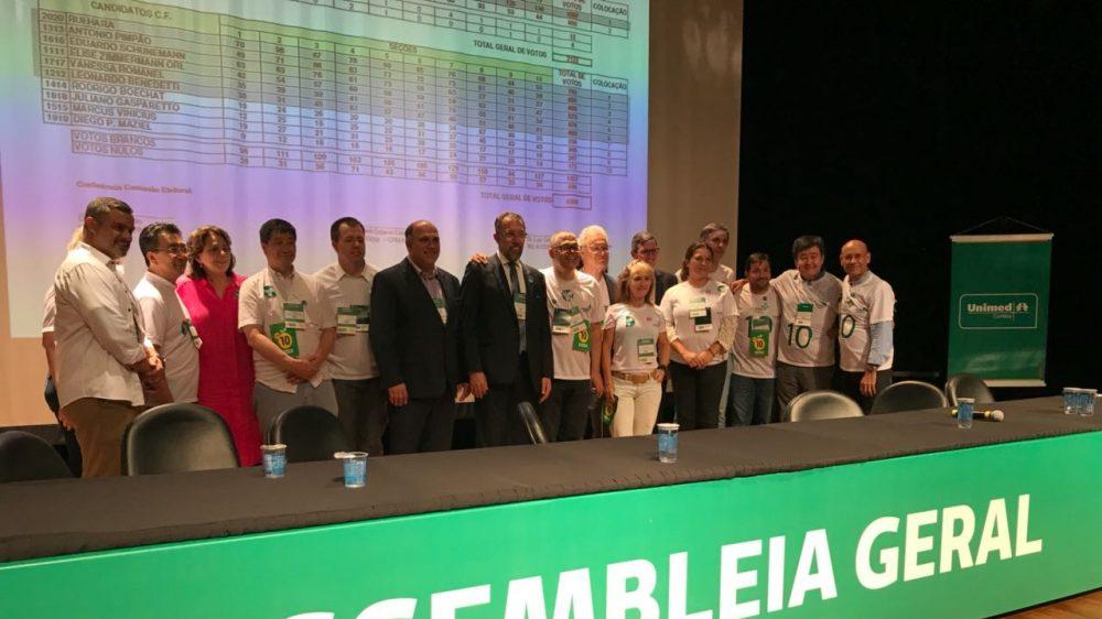 Situação vence eleição na Unimed Curitiba