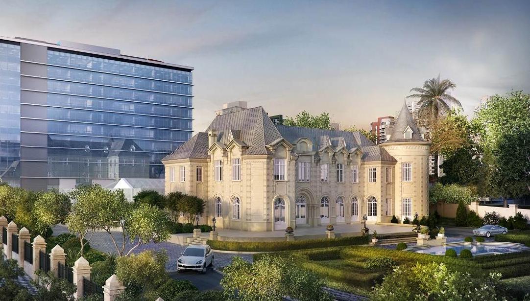 Edifício anexo ao Castelo do Batel terá elevadores de última geração
