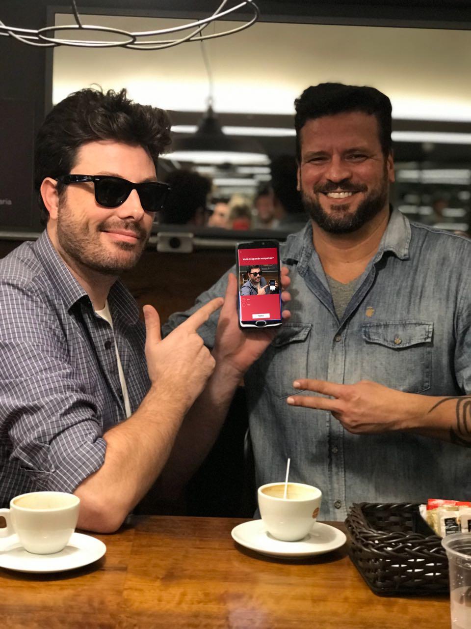 Danilo Gentili é embaixador de startup curitibana
