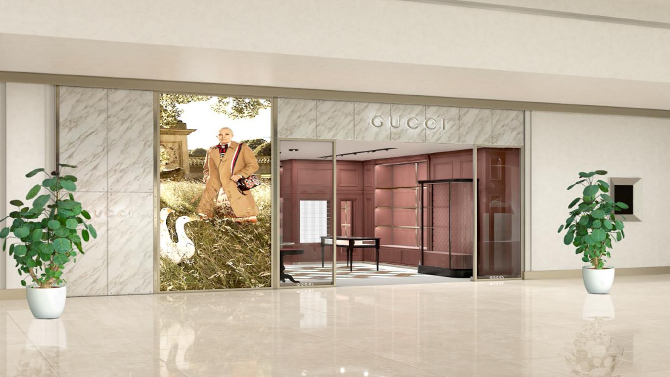 3b122c37f534a Gucci inaugura sua loja em Curitiba nesta quarta-feira