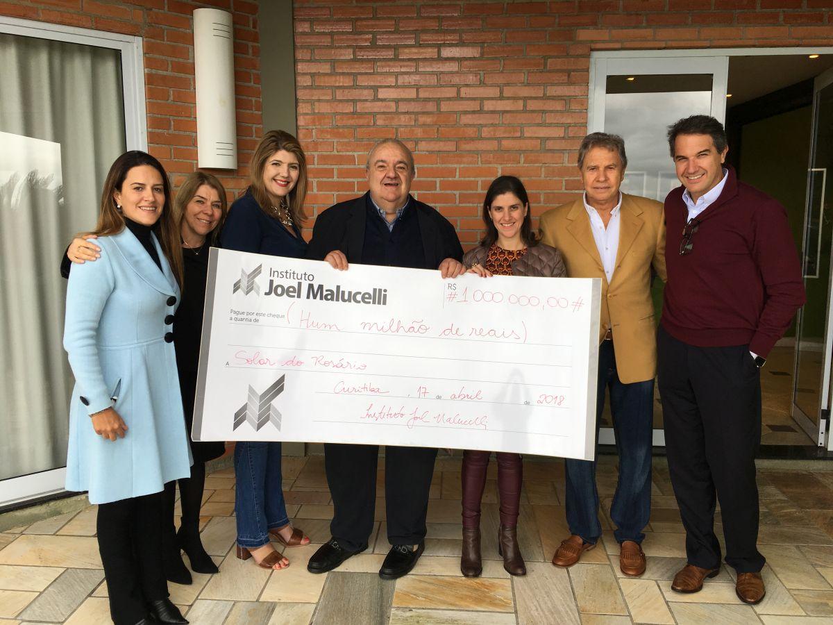 Instituto Joel Malucelli doa R$ 1 milhão para projeto que levará cultura a bairros de Curitiba