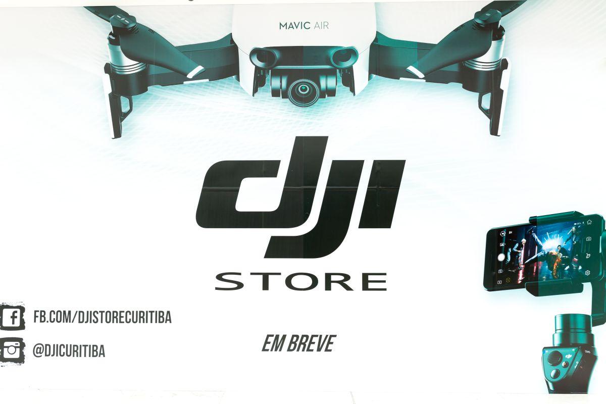 Líder mundial de vendas de drones abre loja em Curitiba