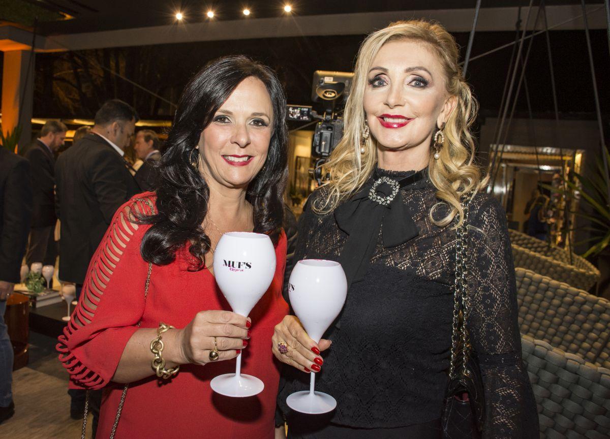 Rita Cooper Mylla e Vânia Dalmaz. Foto: Nay Klyn / Gazeta do Povo.