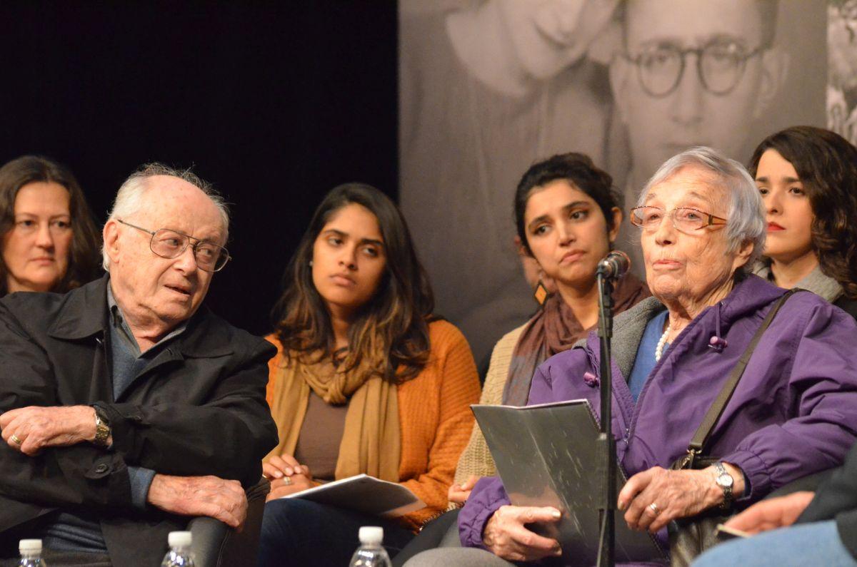 Sobrevivente do Holocausto lota teatro da Reitoria
