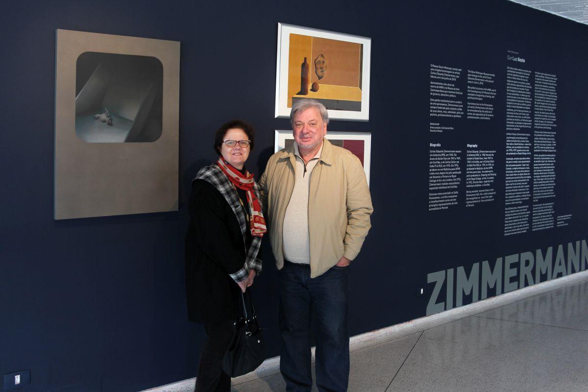 Família doa obras de Zimmermann ao MON