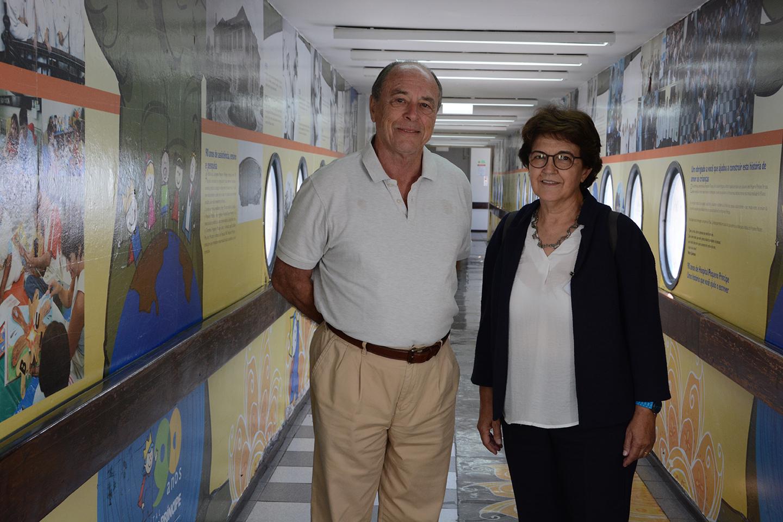 Pequeno Príncipe recebe visita de ex-ministra da Saúde de Portugal