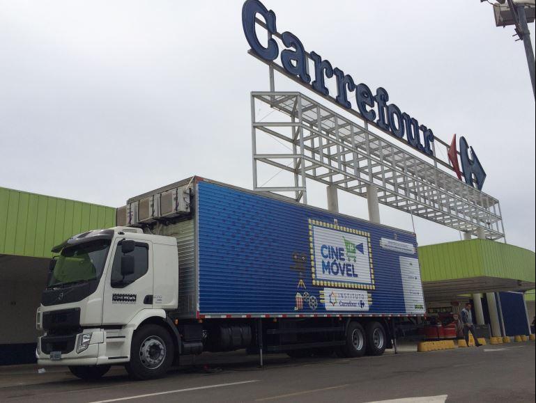 Carrefour traz seu projeto de cinema itinerante ao Paraná