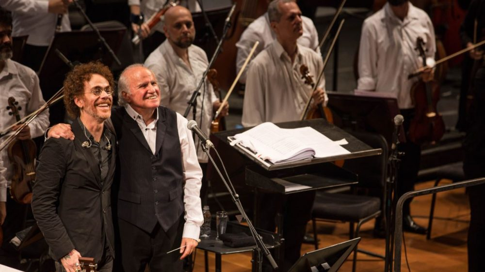 Curitiba recebe turnê nacional de Nando Reis com a Orquestra Petrobras Sinfônica