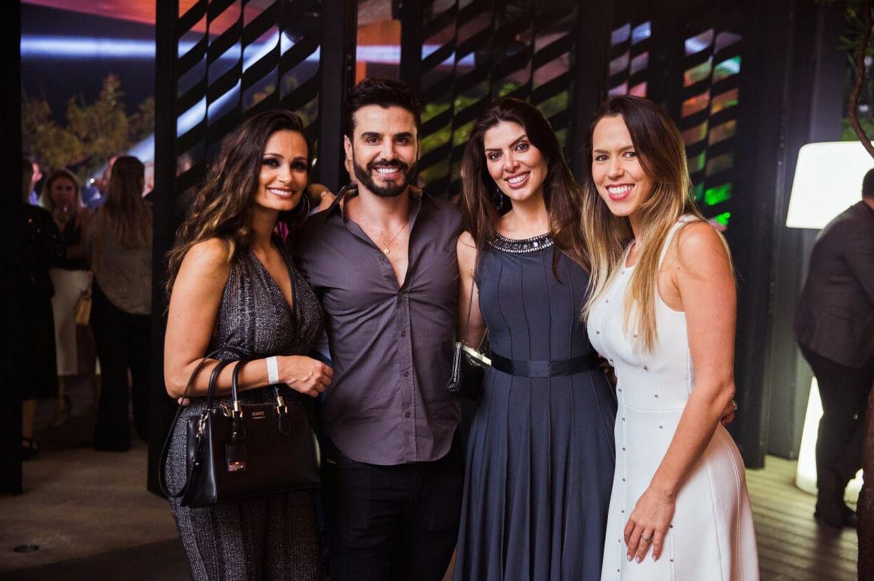 Bruna Guerreiro, Rodrigo de Faria Correa, a paranaense Maria Inês Cequinel e Aline Castanharo.