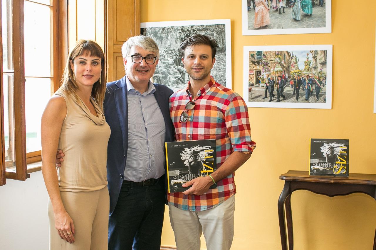 A ex-deputada do Paralmento Italiano Renata Bueno e seu marido, o empresário italiano Angelo Martiriggiano.