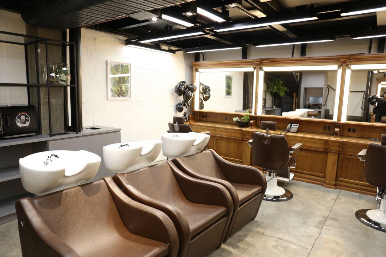 O Torriton Men é o primeiro salão exclusivamente masculino da rede Torriton Beauty & Hair. Fotos: Lorraine Dias