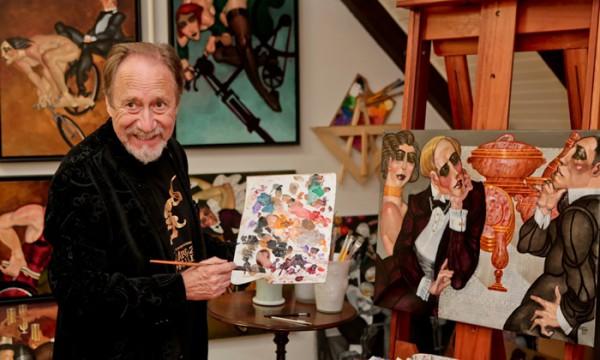 De galeria nova na cidade, Juarez Machado volta a expor em Curitiba