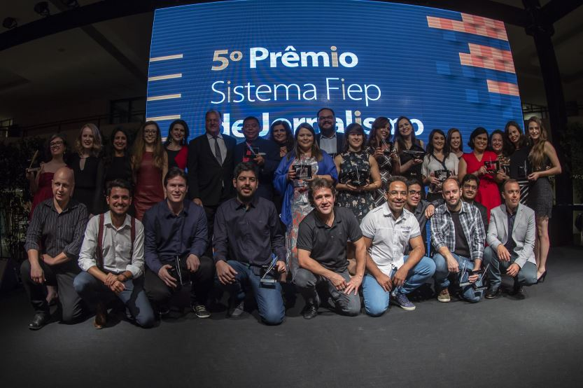 Vencedores do Prêmio Sistema Fiep de Jornalismo são anunciados