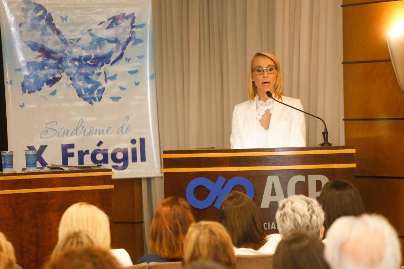 A diretora do Instituto Lico Kaesemodel, Sabrina Muggiati.