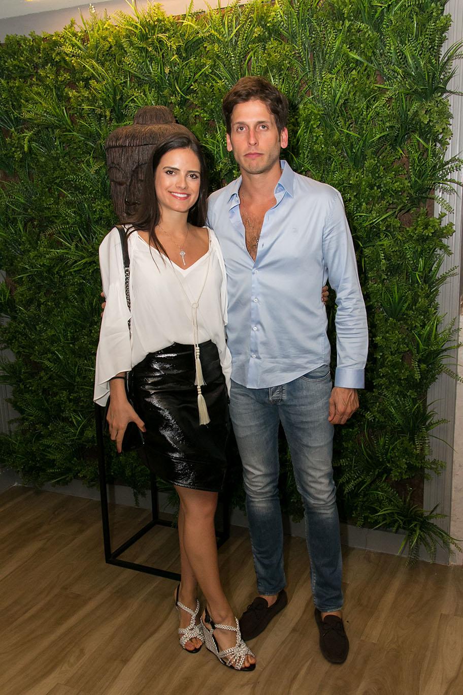Alexia Taques e Felipe Yared.