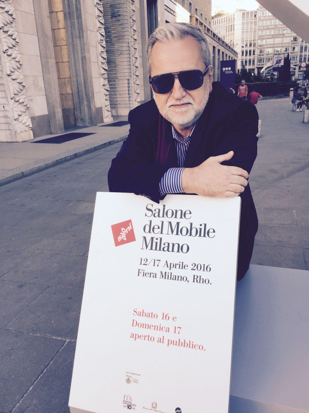 Viagem para cobrir o Salão do Móvel de Milão foi uma das pautas internacionais da coluna.