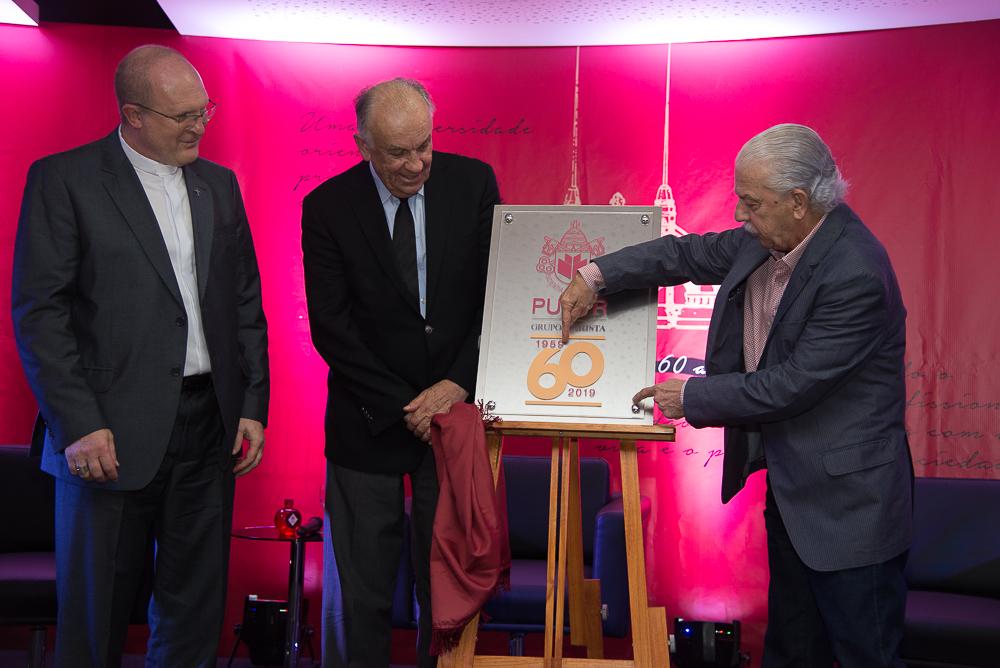 PUCPR ganha selo em comemoração aos seus 60 anos
