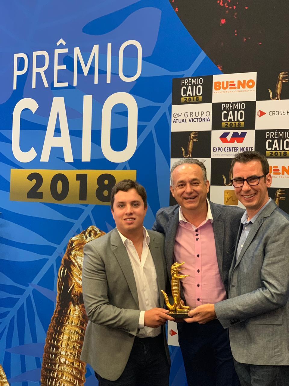 Curitibana AirPromo conquista Jacaré de Ouro no Prêmio Caio, em São Paulo